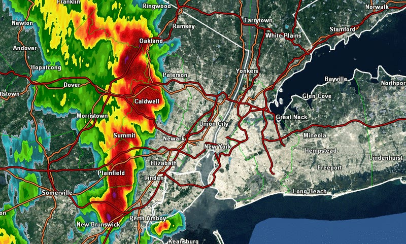 Severe Thunderstorms Will Threaten New York City by 6:00PM