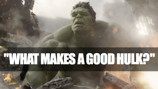 The Hulk reviews Mark Ruffalo's performance as... The Hulk.