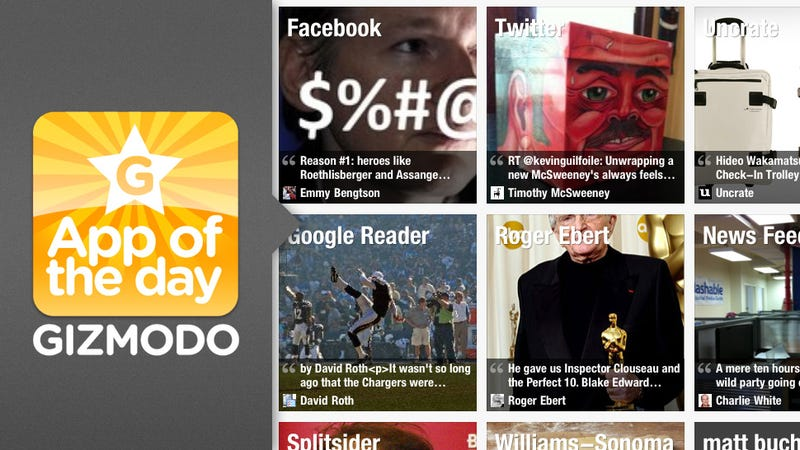 App of the Day: Flipboard for iPad