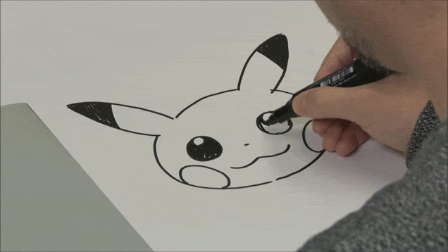 Here's How to Draw Pikachu
