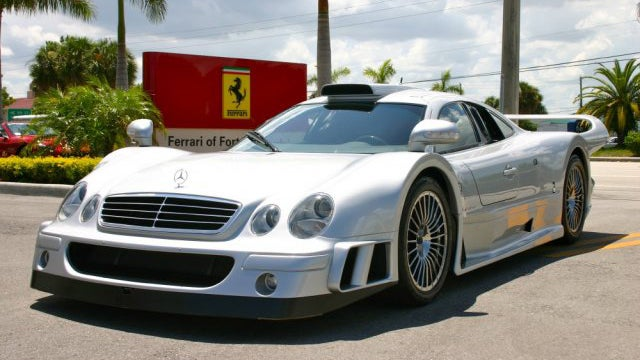 Why Won't Anyone Buy This $1.4 Million Mercedes CLK GTR?