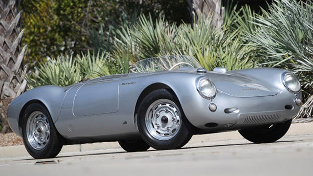 1955 Porsche 550 Spyder Sells For Record $3.685 million
