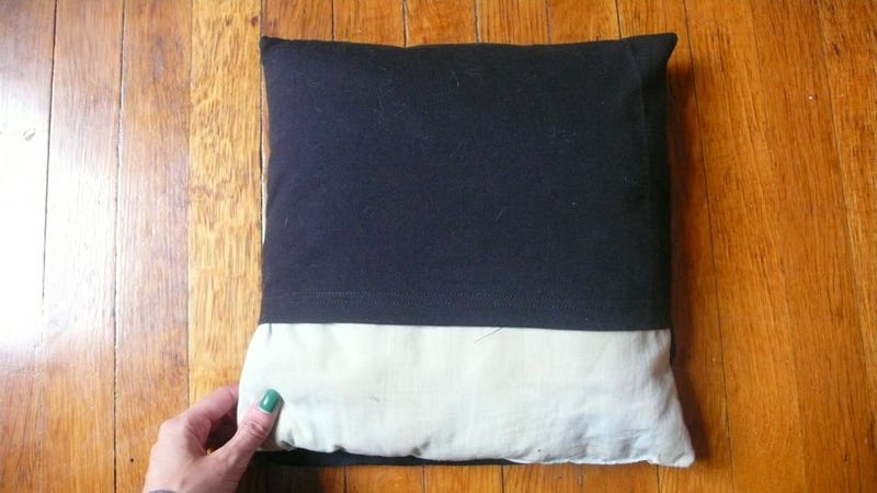 How To Turn A T-Shirt Into A Pillow
