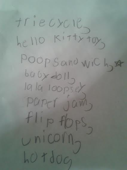 A Treasury Of Children's Insane Christmas Wish Lists