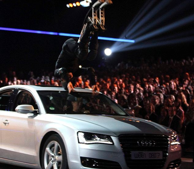 "German TV Show ""Wetten Dass?"" Halted After Car Jumping Accident"