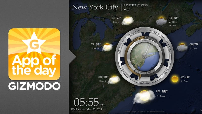Aelios Weather for iPad