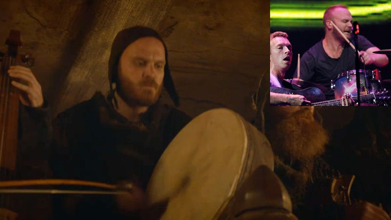 Otherwise Boring Game of Thrones Features Shocking Coldplay Cameo