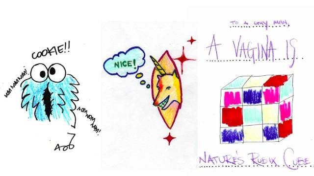 What It Looks Like When Gay Men Draw Vaginas