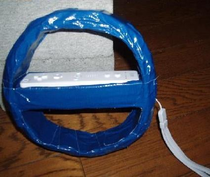 DIY Wii Steering Wheel: Redefines Crappy