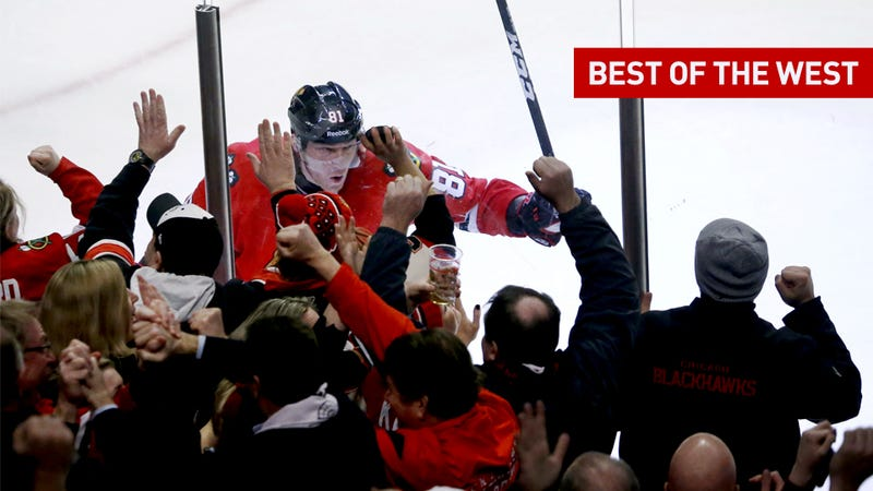 Don't Look Now, But The NHL's Best Hockey Is Out West