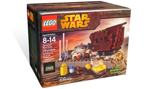 Lego's tiny Tatooine playset includes an adorable mini Sandcrawler