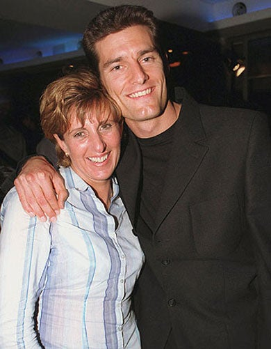 F1 Driver Mark Webber Apparently Dating His Mom