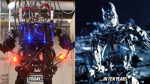 Terminator Robot in Real Life Like Real Life Terminators