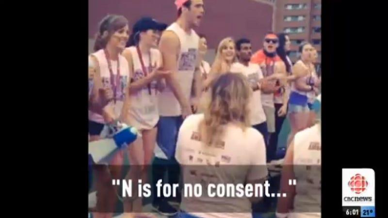 'Pro-Rape' Chant at Canadian Universities Sparks Alarm