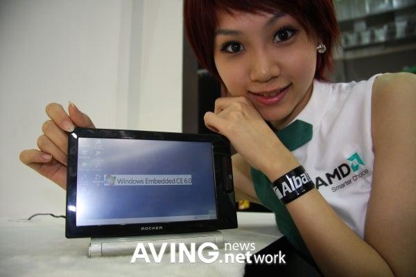 Albatron Rocker Mini Tablet Has Windows CE and Not Much Heft
