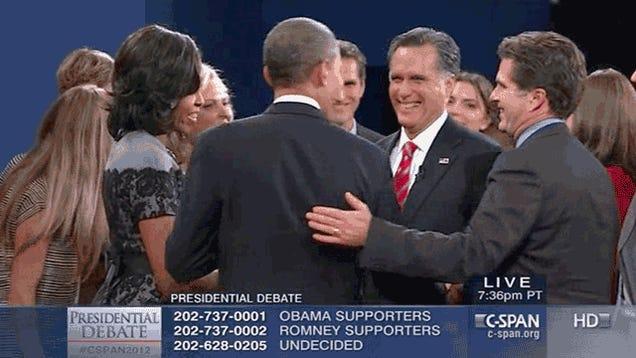 Creepy Josh Romney Returns in Third Presidential Debate