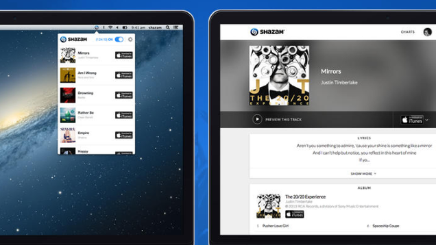 Shazam for OS X Identifies Songs Playing Around You
