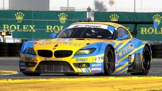 BMW Z4 GT3 Gets Pwned With Huge Restrictor In United SportsCar