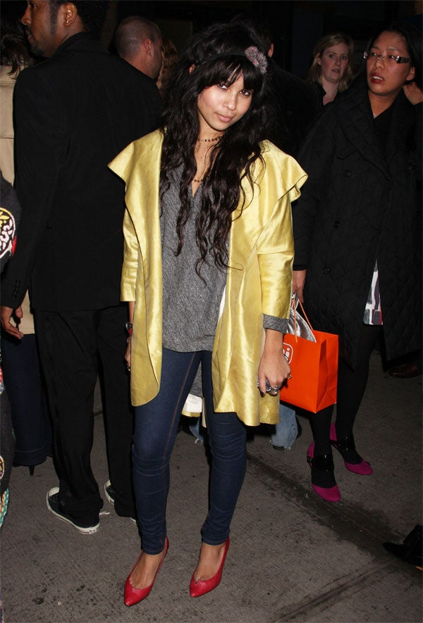 Zoe Kravitz: (Kinda) Caped Crusader