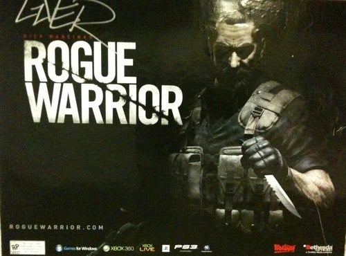 Rogue Warrior Gets A Different Kind Of Gaming Ad