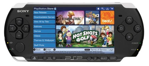PSP Update 5.5 Makes It Easier To Shop