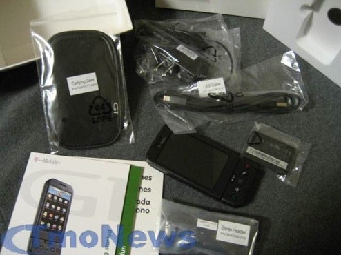 T-Mobile G1 Unboxed, Ready For Belt Clips Everywhere