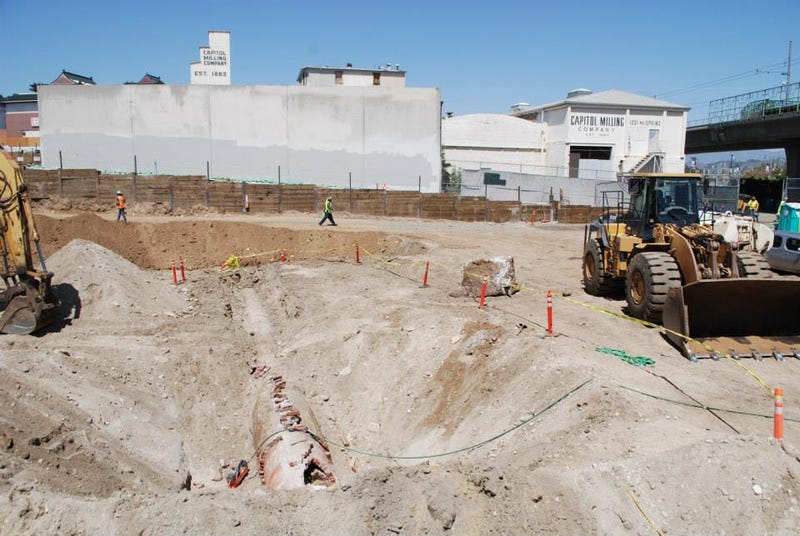Did Construction Workers Just Unearth L.A.'s Original Aqueduct?