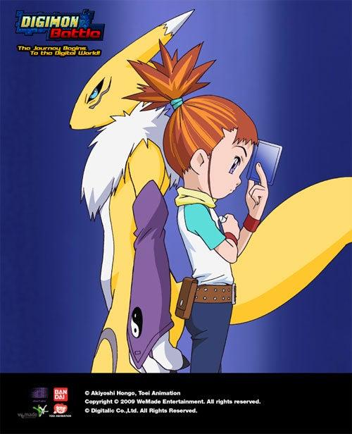WeMade Brings Digimon Online