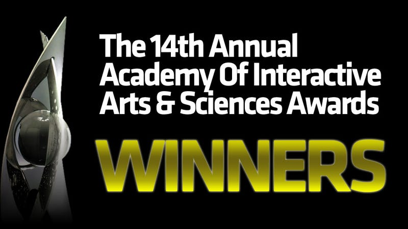 All The Winners From The 14th AIAS Awards
