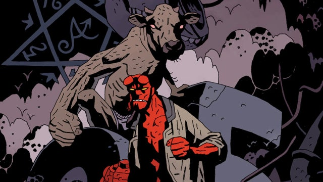 In comics, Hellboy meets mutant cows (and everyone wants to be Cobra Commander)