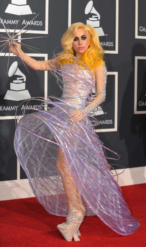 Gaga Goes Fishing In Heels; Amy Winehouse Names Her Vagina