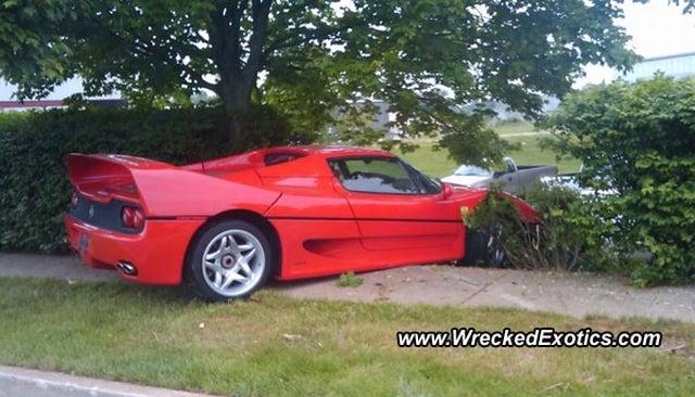 FBI Officer Crashes Drug Dealer's Seized Ferrari F50