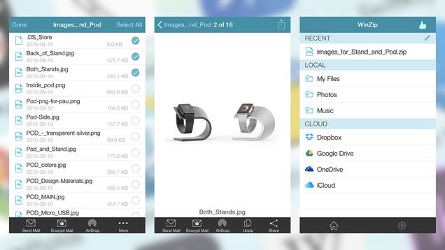 How to Open Zip Files on iOS and Android