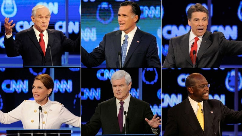The 10 Assiest Moments From Last Night's Republican Debate