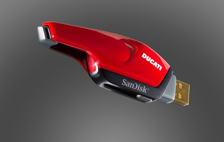 SanDisk Ducati Edition Flash Drives Look Fast, Cool