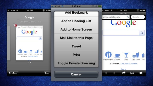 Privata Is a Quick Toggle Private Browsing Mode for Mobile Safari