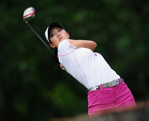 Michelle Wie Swings Like Whoa