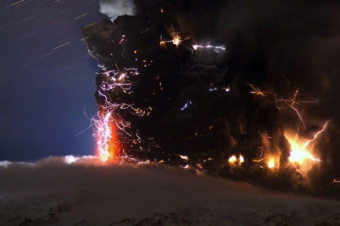 Eyjafjallajökull Rains Lightning Upon You