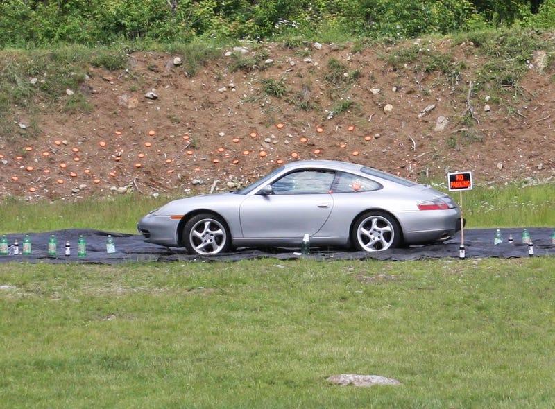 Porsche 911 Shooting