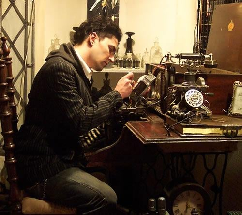 Exclusive Interview: Steampunk Virtuoso Datamancer, aka Rich Nagy, Shows Us His 'Tesla Cane'