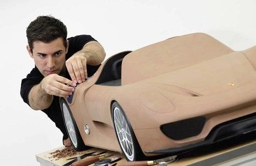 Porsche Renders Production 918 Spyder In Clay