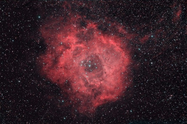 Nebula As Seen From Photographer's Back Yard