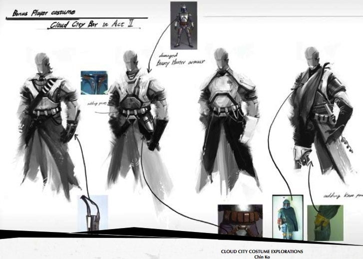 Darth Vader Slays The Wookiees In Force Unleashed Concept Art