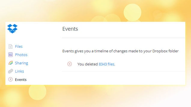 PSA: Dropbox Shouldn't Be Your Sole Backup for Your Files