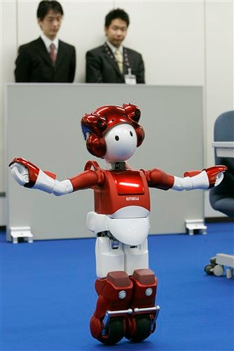 Office Robot Will Kneel At Your Command