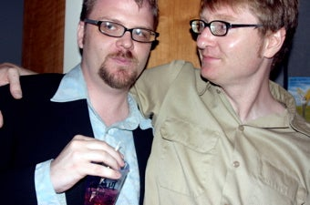 Team Party Crash: Chuck Klosterman's 'Killing Yourself To Live' Book Party