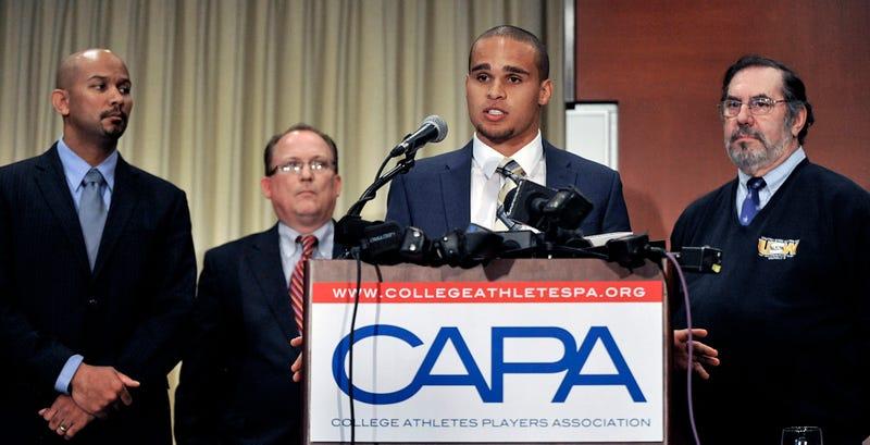 NFLPA Comes Out In Support Of College Players' Union