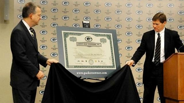 A $250 Stock Certificate Did Not Instantly Turn My Children Into Packers Fans