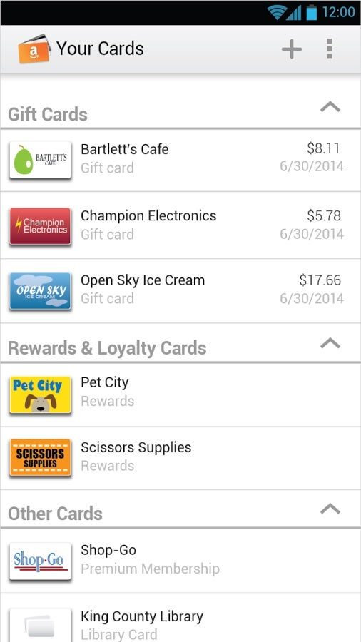 Amazon Wallet: Gift Card Central For the Everything Store