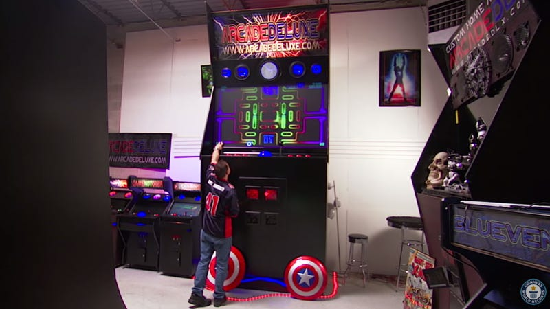 The World's Largest Arcade Cabinet Makes Anyone Feel Like a Little Kid